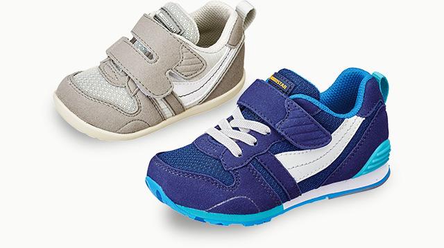 デリケートな子どもの足の正しい成長をサポートし、運動性を確保しつつも足をしっかりと守る靴。そんなムーンスターの子ども靴は、子どもの健やかな成長を願う親の想い