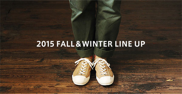 2015 FALL&WINTER LINE UP