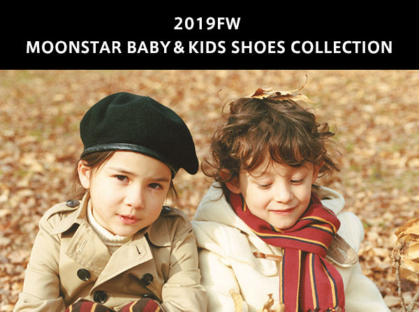2019FW MOONSTAR BABY&KIDS SHOES COLLECTION